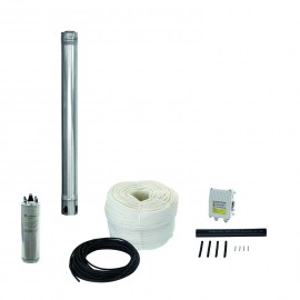 "Kits spétial forage 4"" débit nominal 2,5 m3/h"