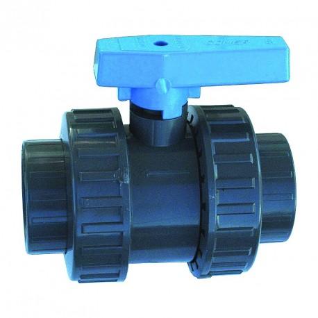 Vanne PVC pression PN16